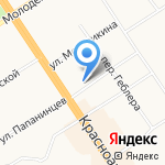 ВАШЛАВАШ на карте Барнаула