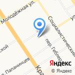 ДЕЛО на карте Барнаула