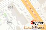 Схема проезда до компании Best Podium в Барнауле