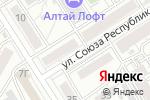 Схема проезда до компании Кариб-плюс в Барнауле