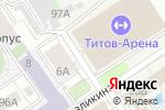 Схема проезда до компании Алтайский айкидо-центр в Барнауле