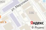 Схема проезда до компании Палитра в Барнауле