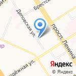 Глорион инфо-мед на карте Барнаула