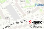 Схема проезда до компании Барбарис в Барнауле