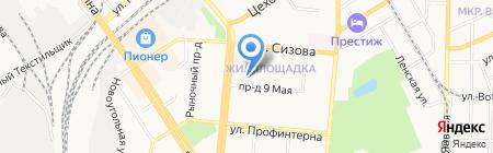 Союз риэлторов Барнаула и Алтайского края на карте Барнаула