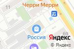 Схема проезда до компании Music Джем в Барнауле
