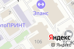 Схема проезда до компании FitCurves в Барнауле