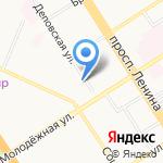 Сибирская регистрационная компания на карте Барнаула