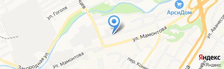 Многопрофильная фирма на карте Барнаула