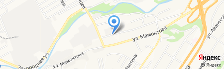Полекс Пак на карте Барнаула