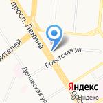 Стоматологическая поликлиника №1 на карте Барнаула