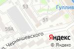 Схема проезда до компании Печки-Lavочки в Барнауле