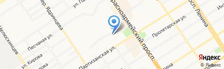 Седьмой этаж на карте Барнаула