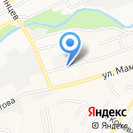 СМ Система на карте Барнаула