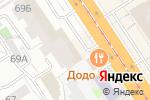 Схема проезда до компании JANITA в Барнауле