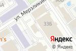 Схема проезда до компании Эланс в Барнауле