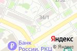 Схема проезда до компании Скатт в Барнауле