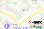 Схема проезда до компании Coral Travel в Барнауле