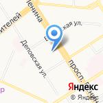 Полиграф-Сервис на карте Барнаула
