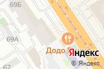 Схема проезда до компании Экс ден в Барнауле