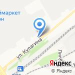РГЛ на карте Барнаула