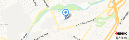 Строй-Траст на карте Барнаула
