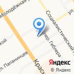 FitCurves на карте Барнаула
