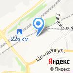 Алтай-Командор на карте Барнаула