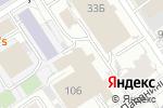 Схема проезда до компании А1 в Барнауле