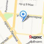 ЖЭУ №45 на карте Барнаула