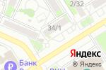Схема проезда до компании Отличники в Барнауле