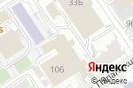 Схема проезда до компании Алант в Барнауле