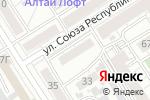 Схема проезда до компании Futurum в Барнауле