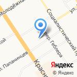Авто-Спа на карте Барнаула