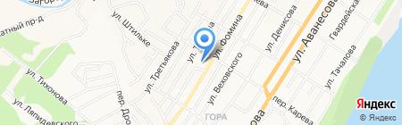 Участковый пункт полиции Отдела полиции №5 УВД по г. Барнаулу на карте Барнаула