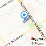 Ли-лу на карте Барнаула