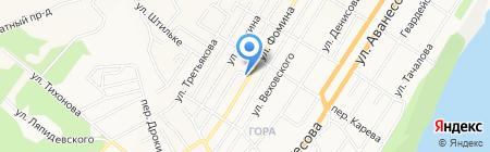 Пивная заправка на карте Барнаула
