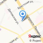 Алтайский центр земельного кадастра и недвижимости на карте Барнаула
