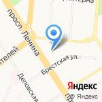 Евросервис на карте Барнаула