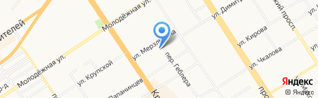 Карлов мост на карте Барнаула