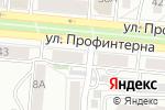 Схема проезда до компании Подшипникторг в Барнауле
