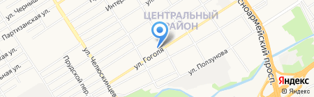 АлтайХорс на карте Барнаула