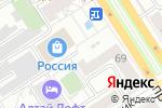 Схема проезда до компании HotDogg`s в Барнауле