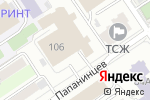 Схема проезда до компании Авто-Спа в Барнауле