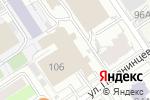 Схема проезда до компании Вариация в Барнауле