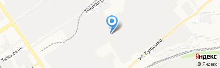 Тэохим-Алтай на карте Барнаула