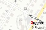 Схема проезда до компании Восток в Барнауле