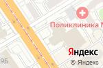 Схема проезда до компании Модельное агентство Татьяны Жилиной в Барнауле