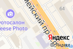 Схема проезда до компании Здравница Алтая в Барнауле