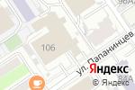 Схема проезда до компании Типография в Барнауле